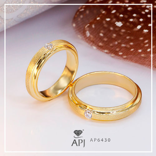 Chọn nhẫn cưới kim cương hợp phong thủy cho bạn AP630