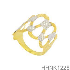 Nhẫn Kiểu Nữ APJ Vàng 18k - HHNK1228