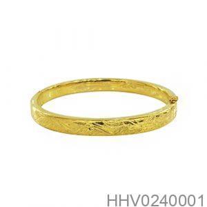 Vòng Tay Cưới Vàng 24k - HHV0240001