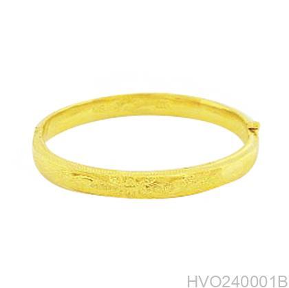 Vòng Tay Cưới Vàng 24k - HVO240001B