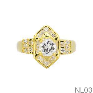 Nhẫn Kiểu Nữ APJ Vàng 18k - NL03