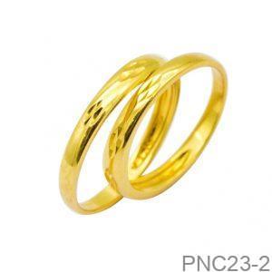 Nhẫn Cưới Vàng Vàng 18K - PNC23-2