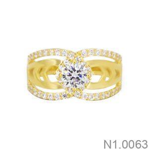 Nhẫn Kiểu Nữ APJ Vàng 18k - N1.0063
