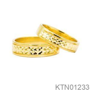 Nhẫn Cưới Vàng 10K - KTN01233