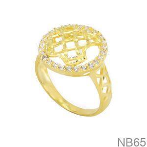 Nhẫn Kiểu Nữ APJ Vàng 18k - NB65