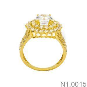 Nhẫn Nữ Vàng 18K Đính Đá CZ- N10015