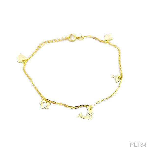 Lắc Tay Vàng 18K - PLT34