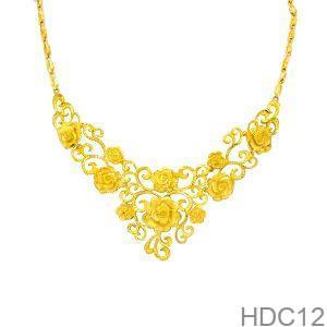 Dây Chuyền Cưới Vàng 24k - HDC12