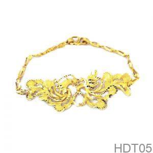 Lắc Tay Cưới Vàng 24k - HDT05