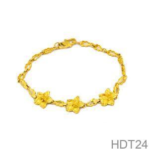 Lắc Tay Cưới Vàng 24k - HDT24