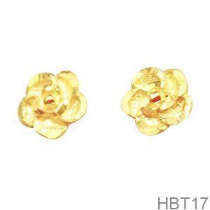 Bông Tai Cưới Vàng 24K - HBT17