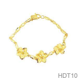 Lắc Tay Cưới Vàng 24k - HDT10