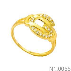Nhẫn Kiểu Nữ APJ Vàng 18k - N1.0055