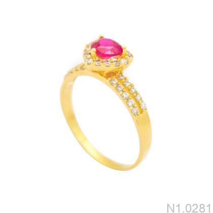 Nhẫn Kiểu Nữ APJ Vàng 18k - N1.0281