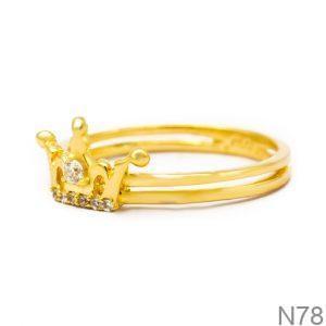 Nhẫn Kiểu Nữ Vàng 18k - N78
