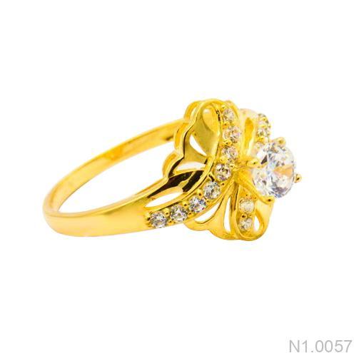 Nhẫn Kiểu Nữ APJ Vàng 18k - N1.0057