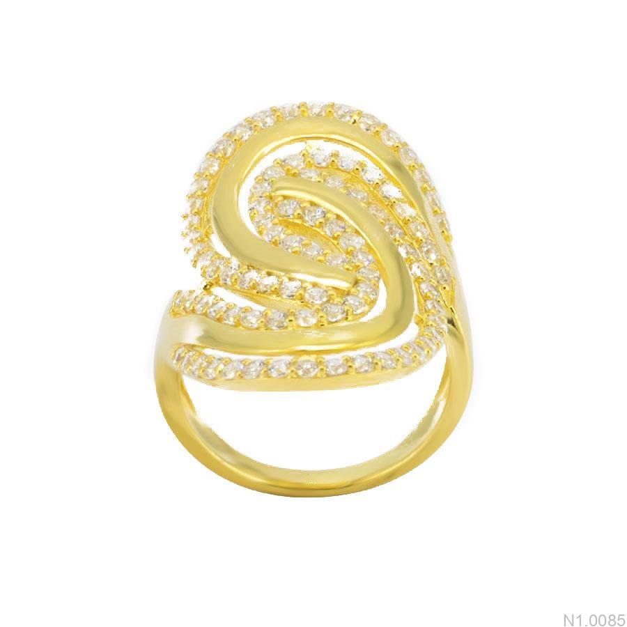 Nhẫn Kiểu Nữ APJ Vàng 18k - N1.0085