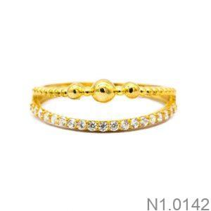 Nhẫn Kiểu Nữ APJ Vàng 18k - N1.0142