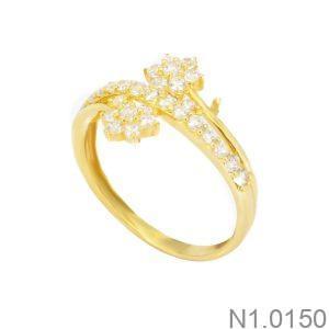 Nhẫn Kiểu Nữ APJ Vàng 18k - N1.0150