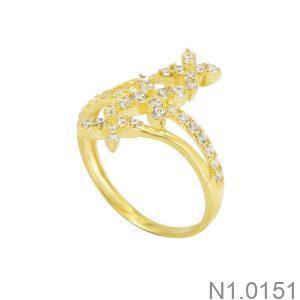 Nhẫn Kiểu Nữ APJ Vàng 18k - N1.0151