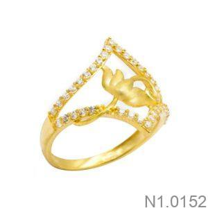 Nhẫn Kiểu Nữ APJ Vàng 18k - N1.0152
