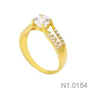 Nhẫn Kiểu Nữ APJ Vàng 18k - N1.0154