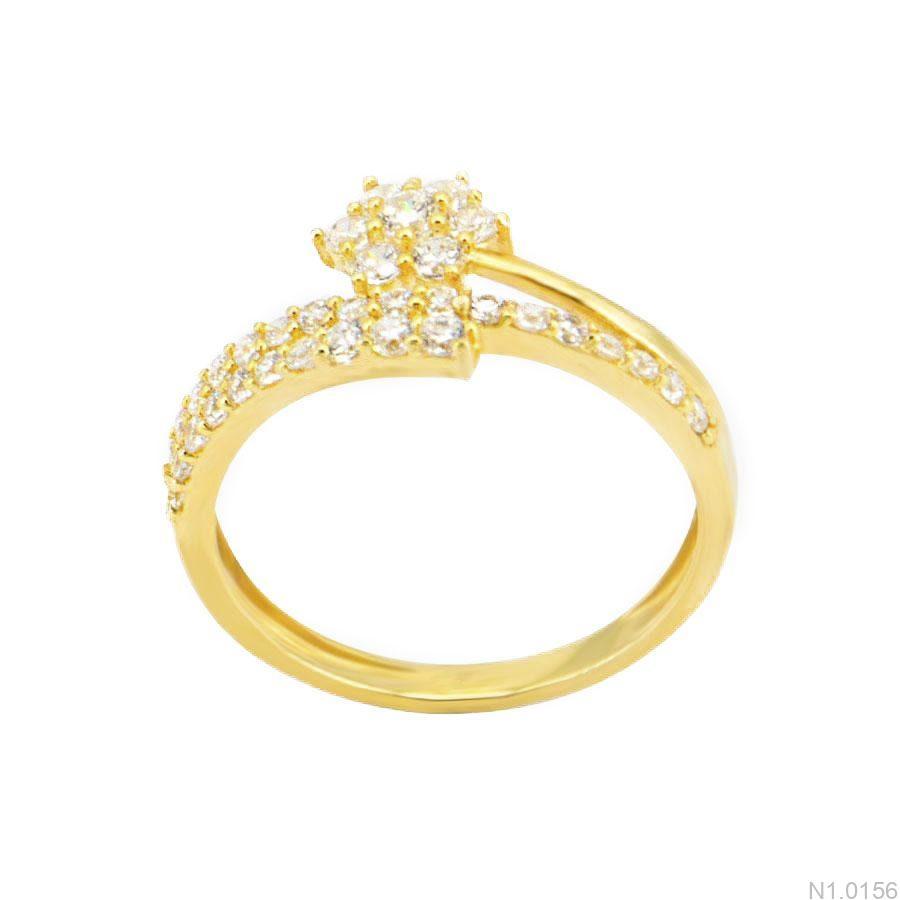 Nhẫn Kiểu Nữ APJ Vàng 18k - N1.0156
