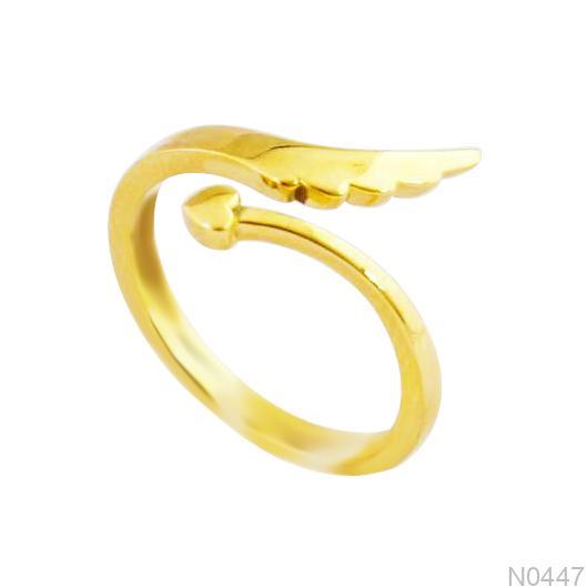 Nhẫn Kiểu Nữ Vàng 18k - N0447