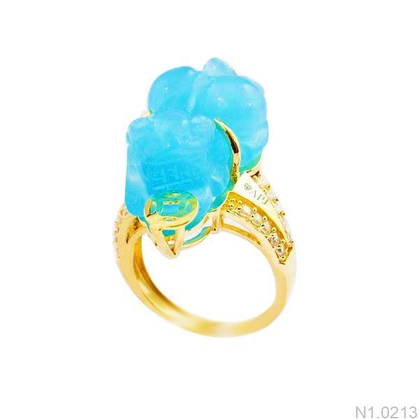 Nhẫn Nữ Tỳ Hưu APJ Vàng 18k - N1.0213