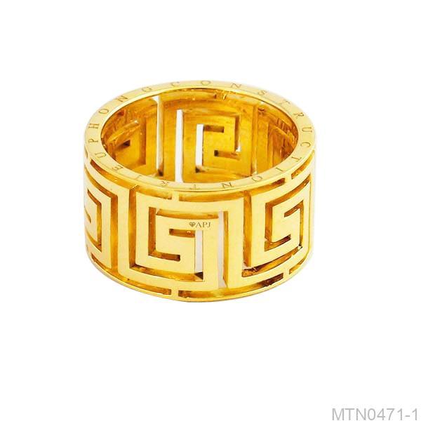 Nhẫn Nam Vàng 18K - MTN0471-1