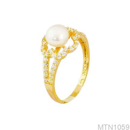 Nhẫn Kiểu Nữ APJ Vàng 18k - MTN1059