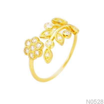 Nhẫn Kiểu Nữ Vàng 18k - N0528