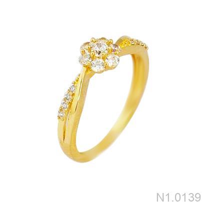 Nhẫn Kiểu Nữ APJ Vàng 18k - N1.0139