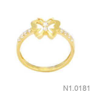 Nhẫn Kiểu Nữ APJ Vàng 18k - N1.0181