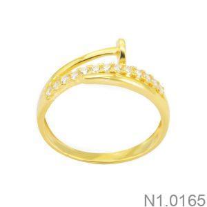 Nhẫn Kiểu Nữ APJ Vàng 18k - N1.0165