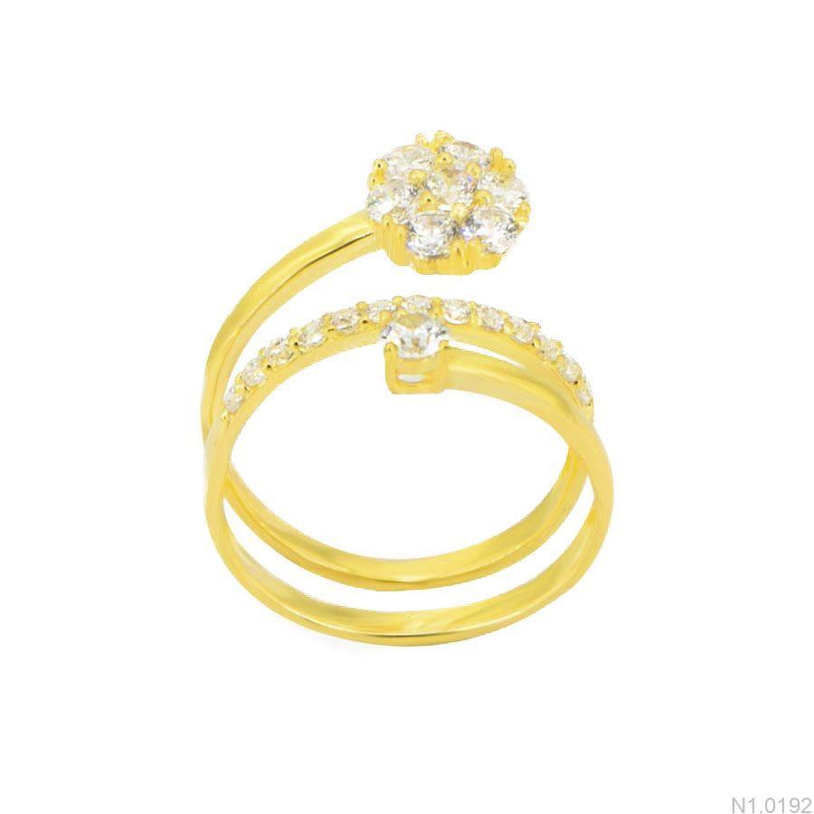 Nhẫn Kiểu Nữ APJ Vàng 18k - N1.0192