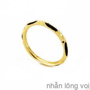 Nhẫn Nữ Lông Voi Vàng 18K-LV1