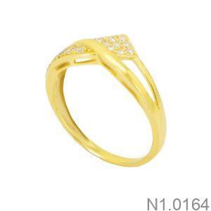 Nhẫn Kiểu Nữ APJ Vàng 18k - N1.0164