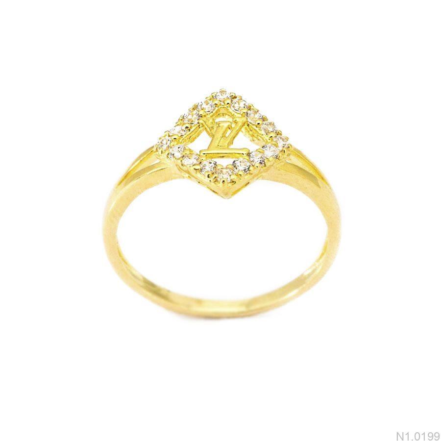 Nhẫn Kiểu Nữ APJ Vàng 18k - N1.0199