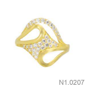 Nhẫn Kiểu Nữ APJ Vàng 18k - N1.0207