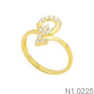 Nhẫn Kiểu Nữ APJ Vàng 18k - N1.0225