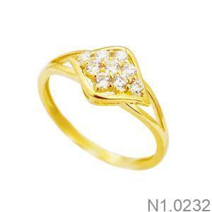 Nhẫn Kiểu Nữ APJ Vàng 18k - N1.0232