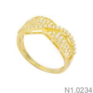 Nhẫn Kiểu Nữ APJ Vàng 18k - N1.0234