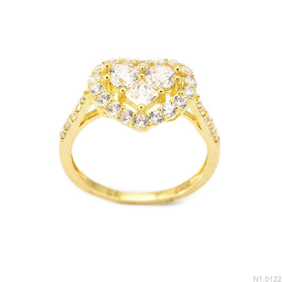 Nhẫn Kiểu Nữ APJ Vàng 18k - N1.0122