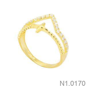 Nhẫn Kiểu Nữ APJ Vàng 18k - N1.0170