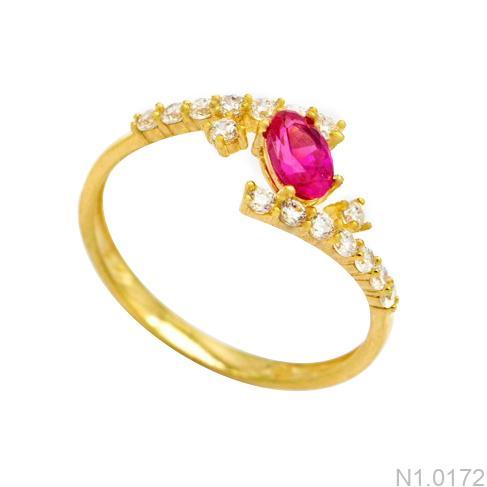 Nhẫn Kiểu Nữ APJ Vàng 18k - N1.0172