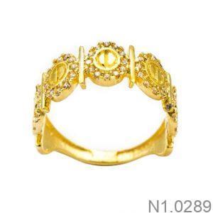 Nhẫn Kiểu Nữ APJ Vàng 18k - N1.0289