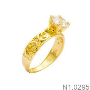 Nhẫn Kiểu Nữ APJ Vàng 18k - N1.0295