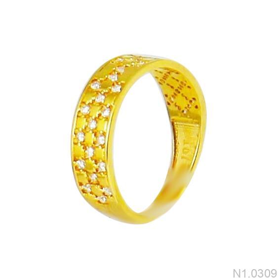 Nhẫn Kiểu Nữ APJ Vàng 18k - N1.0309