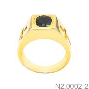 Nhẫn Nam Vàng Vàng 18K - N2.0002-2